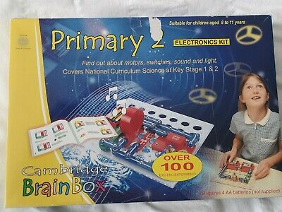 £14.99 • Buy Cambridge BrainBox Primary 2 Electronics Kit - Over 100 Exciting Experiments