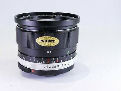 $53.84 • Buy M42 Screw Fit Soligor 28mm F2.8 Manual Wide Angle Vintage Lens Nice