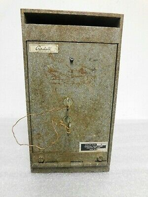 £141.81 • Buy Vtg Gardall Under-counter Depository And Utility  Deposit Box Safe B Rated Keyed