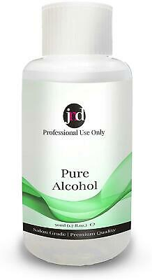 £6.49 • Buy 100% Pure Alcohol Prep & Wipe Cleanser Nail Gel Polish Residue Remover (50ml)