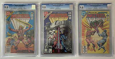 $2130.91 • Buy *RARE* Masters Of The Universe *1st Appearance* SET #1 Newsstand, #2, #3 CGC 9.8