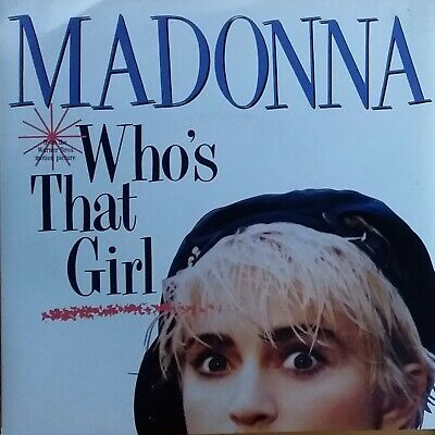 £8.27 • Buy Madonna - Who's That Girl / White Heat. 1987 Aussie  7  Single.