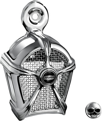 $98.09 • Buy Kuryakyn Mach 2 Two Chrome  Horn Cover Mesh Harley Accent Touring & Softail 7295