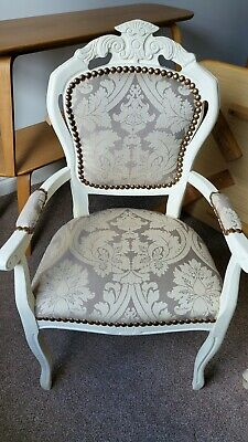 £120 • Buy Shabby Chic French Style Carver Chair