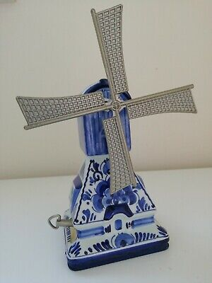 £2 • Buy Delft Boma Blauw Musical  Windmill