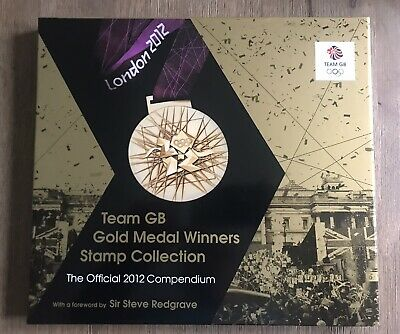 £180 • Buy London 2012 Olympic Compendium Team GB Gold Medal Winners Stamp Collection Set