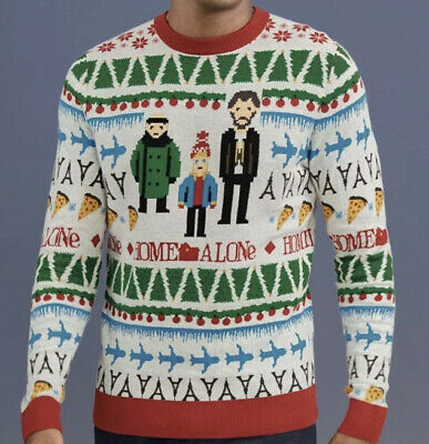 £18 • Buy Men's Next HOME ALONE Christmas Jumper Size XS / Extra Small New