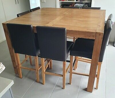 AU350 • Buy Silverwood 8 Seater Bar Table With Chairs