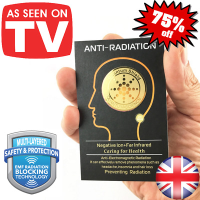 £1.99 • Buy Quantum Shield Anti Radiation EMF Blocker For All Electronic Devices