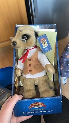 £2.50 • Buy Yakov Meerkat Toy Compare The Market With Tag, Certificate And Original Box.