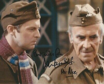 £1 • Buy Photo 10  X 8  Ian Lavender In Person Signed Autograph - Dad's Army - K281
