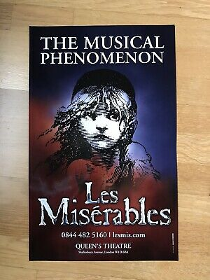 £7.99 • Buy LES MISERABLES. The Musical Phenomenon. Queens Theatre Poster