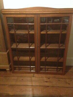 £95 • Buy Antique Glass Fronted Bookcase