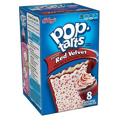 £5.99 • Buy Pop Tarts Frosted Red Velvet Cupcake (8Toaster Pastries) 384g