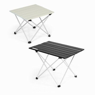 £23.99 • Buy Aluminum Folding Camping Table Lightweight Roll Up Picnic Table Outdoor Hiking