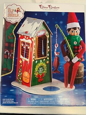 £6 • Buy Elf On The Shelf Claus Couture Frosted Fishing Hut  **DAMAGED**