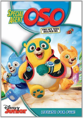 £8.34 • Buy Strange,meghan-special Agent Oso Dvd New