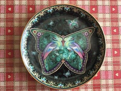 £9 • Buy Collectors Bradford Exchange Ruby Radiance Enchanted Wings Peacock Plate