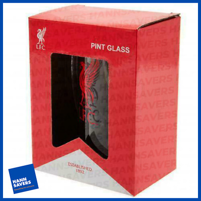 £13.55 • Buy Liverpool FC Pint Stein Glass Tankard Boxed Official Merchandise NEW UK