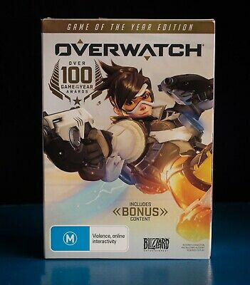 AU30 • Buy Overwatch Game Of The Year Edition Windows PC - NEW, SEALED.