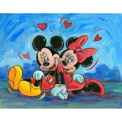 £7.69 • Buy Diamond-Painting Full 5D Drill Mickey Mouse Minnie Leisure Cross Stitch