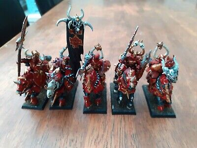 £16 • Buy Warhammer Fantasy Chaos Knights Cavalry Painted