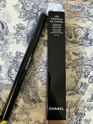 £29.95 • Buy CHANEL RETRACTABLE DUAL-TIP CONCEALER - BLENDER BRUSH No 105 NEW BOXED