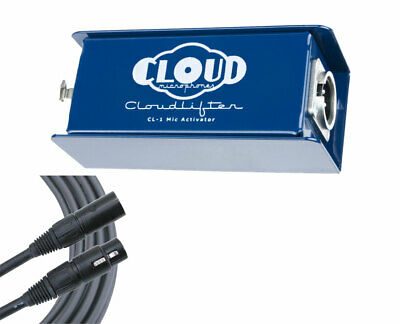 $189.99 • Buy Cloud Cloudlifter CL-1 In-Line Microphone Preamplifier + Mogami XLR Cable