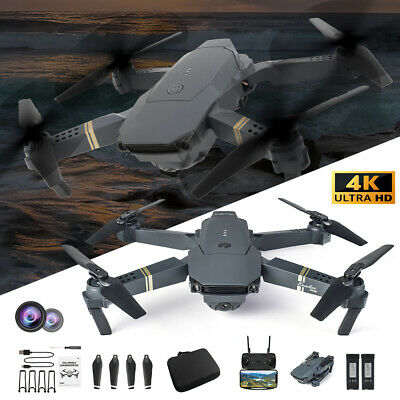 AU53.99 • Buy 4K GPS Drone With HD Camera Drones WiFi FPV Foldable RC Quadcopter Batteries