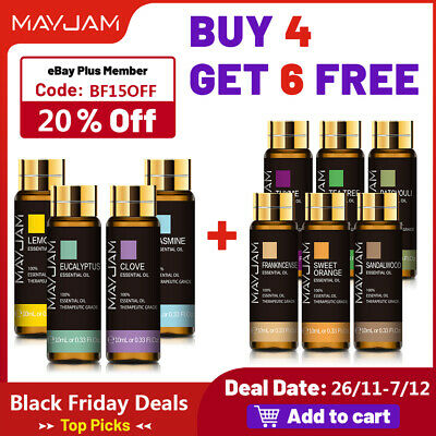 AU9.46 • Buy MAYJAM Pure Essential Oil Grade Oils For Skin Care DIY Candle Yoga Aromatherapy