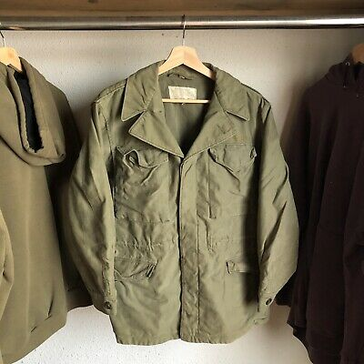 $199.99 • Buy Vintage Military WWII M-1943 US Army Field Jacket OD Green 36R Rare Clean VTG
