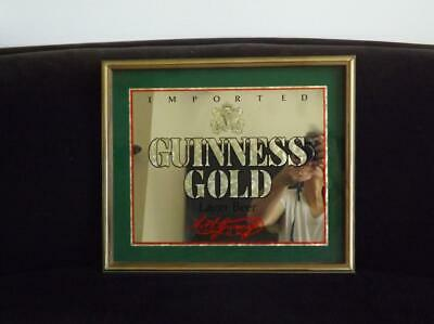 £39.40 • Buy Guinness Gold Lager Bar Mirror Imported 19  X 16  1988