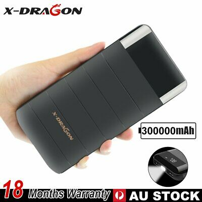 AU28.99 • Buy 300000mAh Portable Charger 2 USB LCD Display Power Bank External Battery Charger