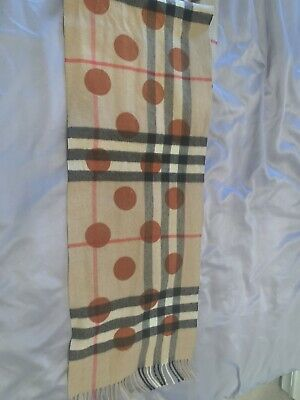 £100 • Buy Burberry Scarf Cashmere