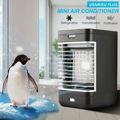 £26.59 • Buy Mini Air Conditioning Conditioner Unit Fan Low Noise Home Cooler Humidifier UK