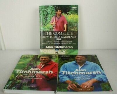 £6 • Buy The Complete How To Be A Gardener (2 Volumes) By Titchmarsh, Alan Hardback Book