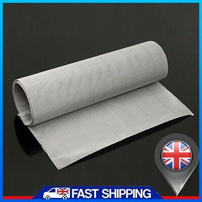 £4.99 • Buy 100Micron Mesh Stainless Steel Woven Wire Cloth Screen Filter Sheet 12 X 35
