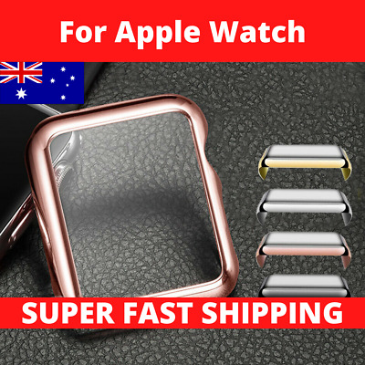 AU3.95 • Buy For Apple Watch Screen Protector Case 40/44mm Front Cover 1 2 3 4 5 6 SE