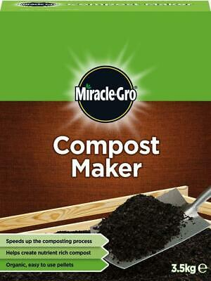 £9.99 • Buy Miracle Gro Compost Maker 3.5 Kg Organic Easy Use Pellets New