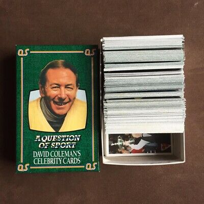 £7.99 • Buy A Question Of Sport Board Game Celebrity Cards X319 VGC