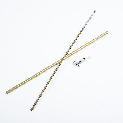 £13.18 • Buy RC Boat 4mm CW/CCW Flex Cable Flexible Shaft 300/350mm Prop Nut Drive Dog
