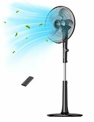 £82.86 • Buy TaoTronics Pedestal Fan, Oscillating Standing Fan With Remote Control