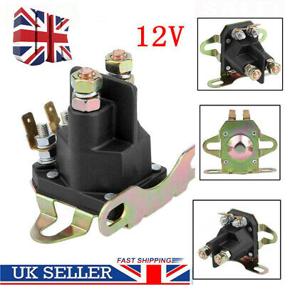 £7.89 • Buy 12V 4-pole Starter Solenoid Relay Motor For BRIGGS STRATTON Motorboat Lawn Mower