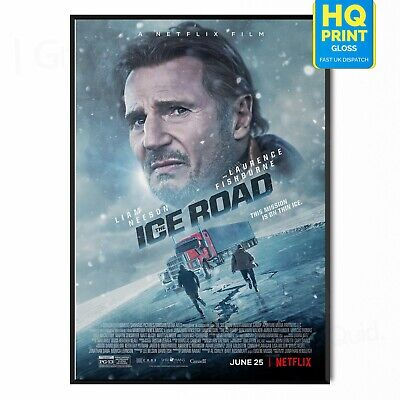 £3.99 • Buy The Ice Road Movie 2021 Liam Neeson Poster Print | A5 A4 A3 A2 A1 |