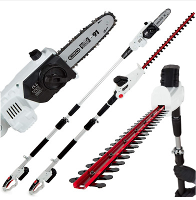 £164.99 • Buy NETTA 2-in-1 20V Cordless Pole Telescopic Chainsaw And Hedge Trimmer