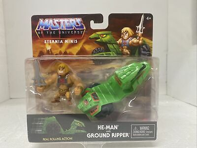 $9.99 • Buy Masters Of The Universe Eternia Minis 3  He-Man And Ground Ripper Action Figure