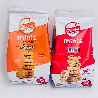 £9.99 • Buy Reese's Hershey's Mini Chocolate Chip Cookies American Sweets Limited Edition
