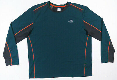 £25.05 • Buy The North Face TNF Flashdry Dome Logo Base Layer Long Sleeve Pullover Shirt XL