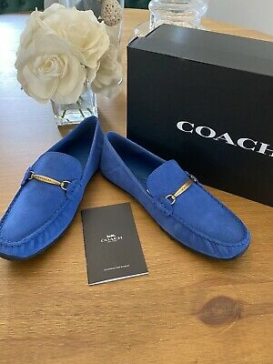 $189 • Buy Coach Men's Collapsible Heel Driver Shoe Size 9D Free Shipping