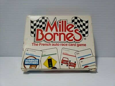 $29.99 • Buy Mille Bornes The French Auto Race Card Game Parker Brothers 1988 Vintage